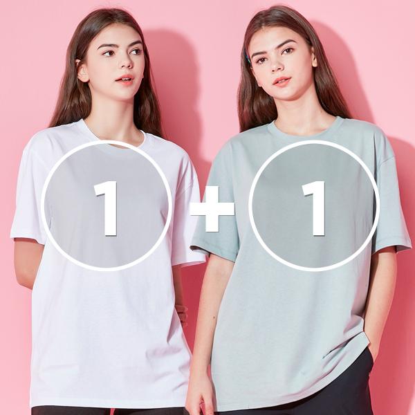[1 + 1 EVENT]オールデイ半そでTシャツ(男女共用)